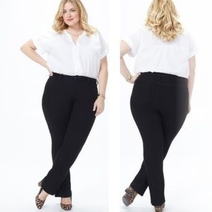 NYDJ Barbara High Rise Bootcut Jeans (Plus Size)